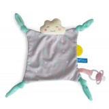 Cheerful cloud blankie