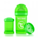 Baby bottle 180ml Green