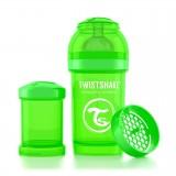 Baby bottle 180ml Green
