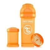 Baby bottle 260ml Orange