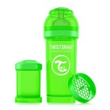 Baby bottle 260ml Green