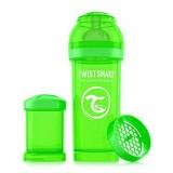 Baby bottle 260ml Green