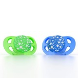 Pacifier 0-6m Blue/green