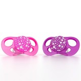 Pacifier 6+m Pink/purple