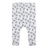 Pants allover Panda white