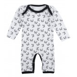 Pyjamas allover Panda white