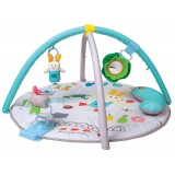 Garden tummy time gym