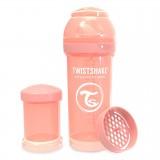Baby bottle 260ml Pastel Peach