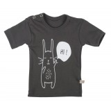 T-shirt anthracite Bunny SS