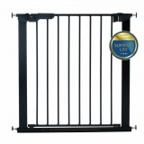 Safety gate Asta black (+2 extensions)