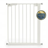 Safety gate Lise white