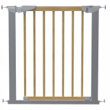 Safety gate Tora nature/silver