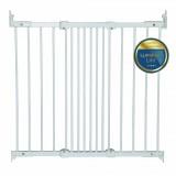 Safety gate Ebba metal white