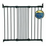 Safety gate Ebba metal black