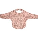Bib long sleeve Leopard Pink