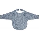 Bib long sleeve Leopard Blue