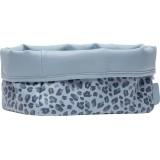 Nursery basket Leopard Blue