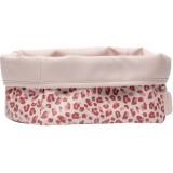 Nursery basket Leopard Pink