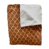 Tuck-Inn blanket cot Dream Hazel Brown