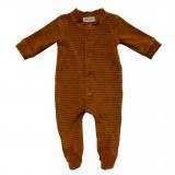 Playsuit 62/68 Corduroy Hazel Brown