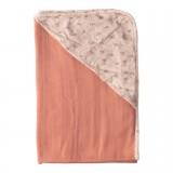 Muslin bathcape Fabulous Wish Pink