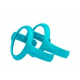 Easy grip handle 2 pieces Turquoise